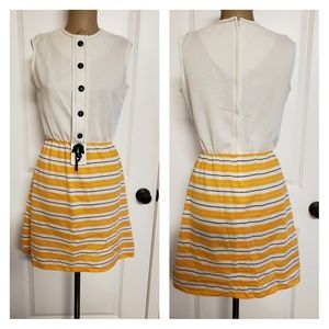 Vintage 1960s/70s Mod Mini Dress.